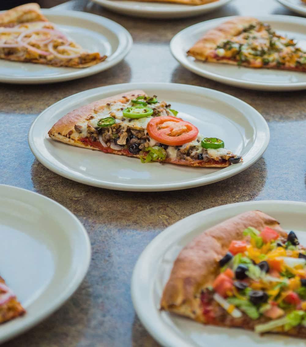 Zios Pizzeria - Multi Slice Pizza