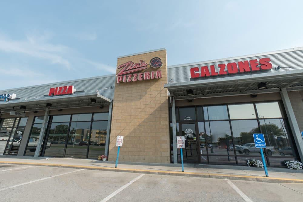 Zio's Pizzeria - Dodge - Exterior