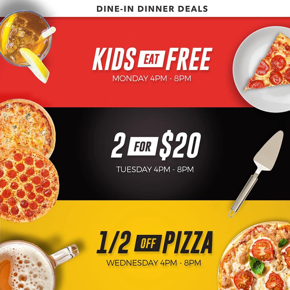 Dine-in Dinner Deals