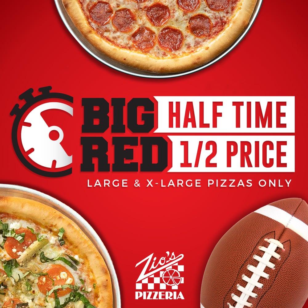 Big Red Half Time 1/2 Off